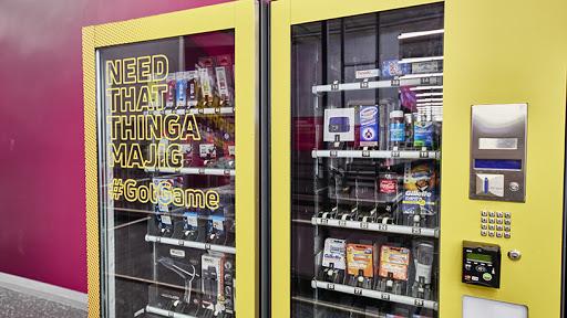 Sampling vending machines.