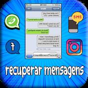 recuperar mensagens apagadas : sms&&conversas