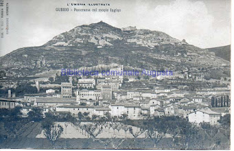 Photo: Gubbio, Panorama col monte Ingino