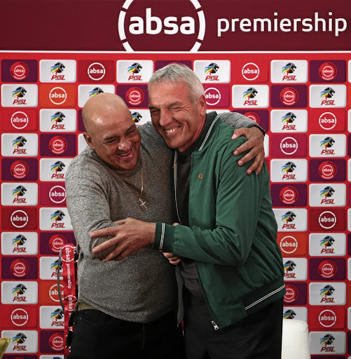 Owen da Gama and Ernst Middendorp.
