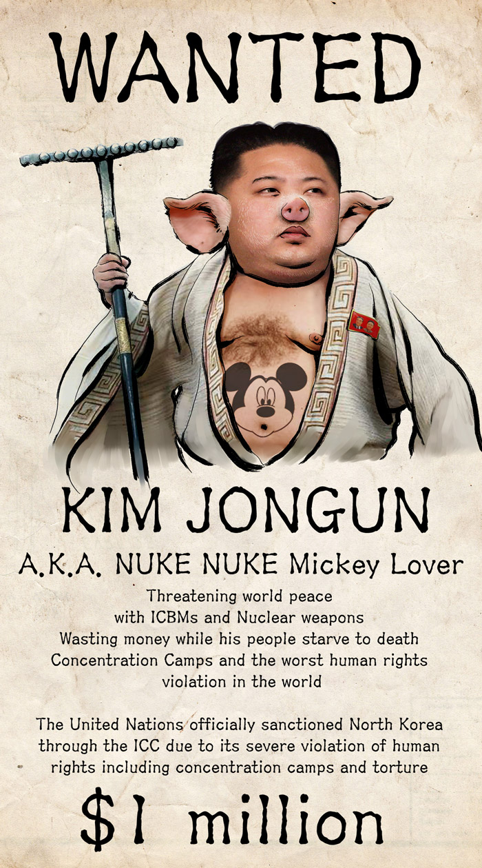 Wanted Poster | Kim Jong-un | Know Your Meme