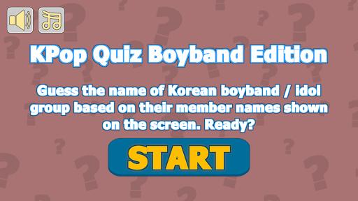 KPop Quiz Boyband