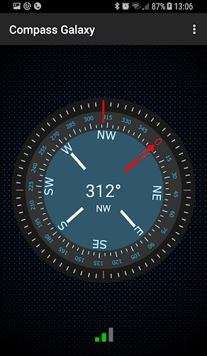 Compass Galaxy Android App Screenshot
