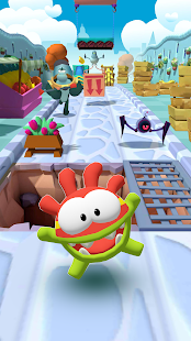 om nom run  modapk free download on android