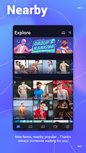Blued - Gay Dating & Chat & Video Call With Guys 2.9.6 screenshots 1