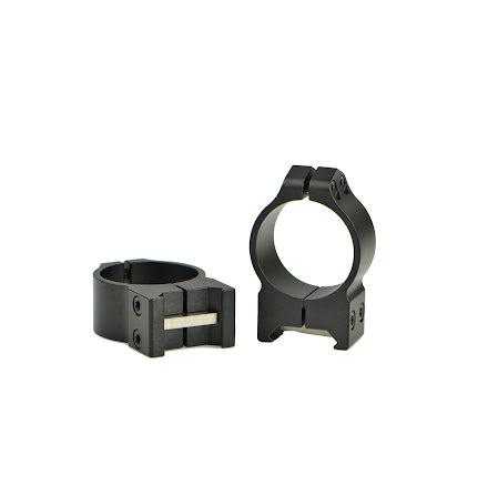 Warne 214M 30mm Fixed Medium Matte Rings