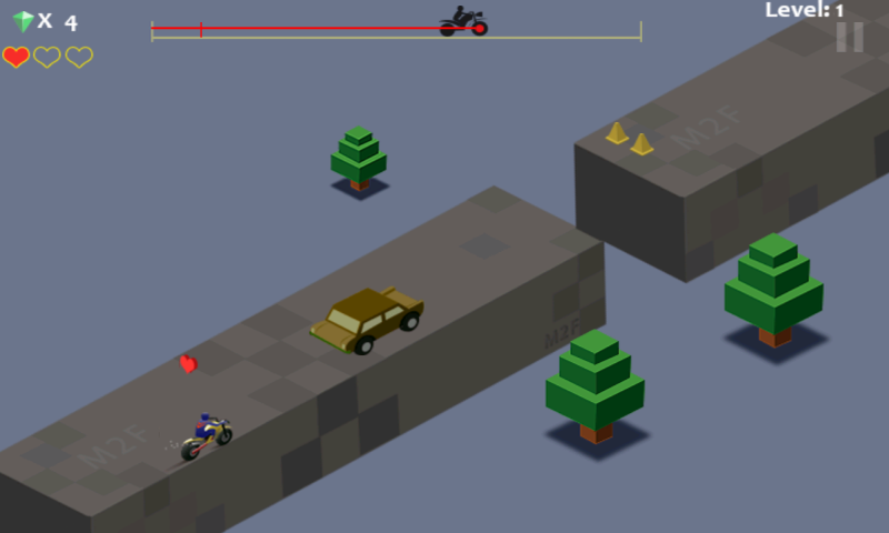 High Speed Risky Bike Ride- screenshot
