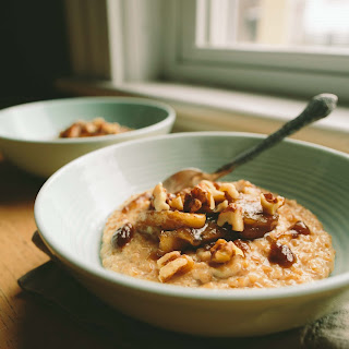 Dulce de Leche Oatmeal with Bananas Foster