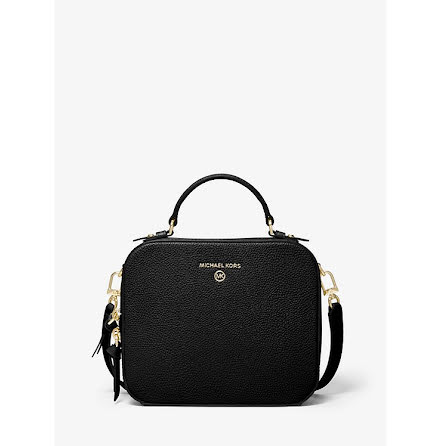 Jet Set Charm: Medium Crossbody black