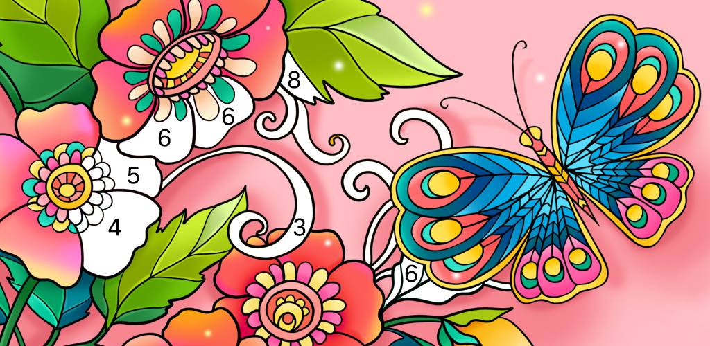 Color Fun - Color by Number & Coloring Books - App by Magic Arts