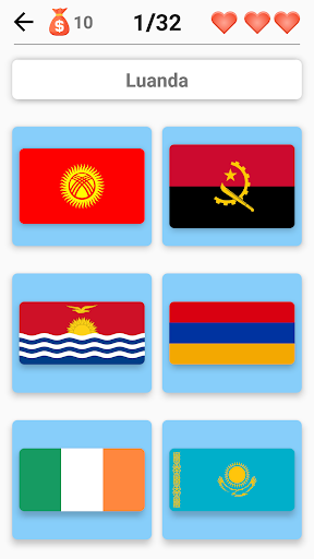 Flags of All Countries of the World: Guess-Quiz  screenshots 5