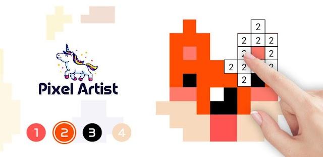 Pixel Artist: Color Number, Pixel Coloring Book