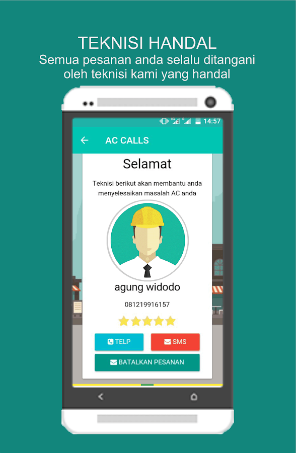 ACCALLS-Layanan AirConditioner- screenshot