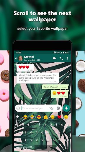 Rockey Keyboard -Transparent Emoji  Keyboard 1.19.2 Screenshots 6