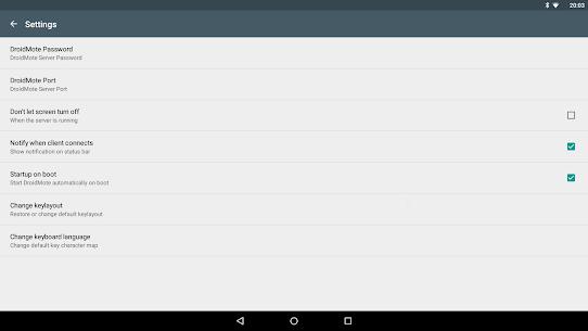 DroidMote Server PRO (root) Latest v3.9.9 Apk Download 5