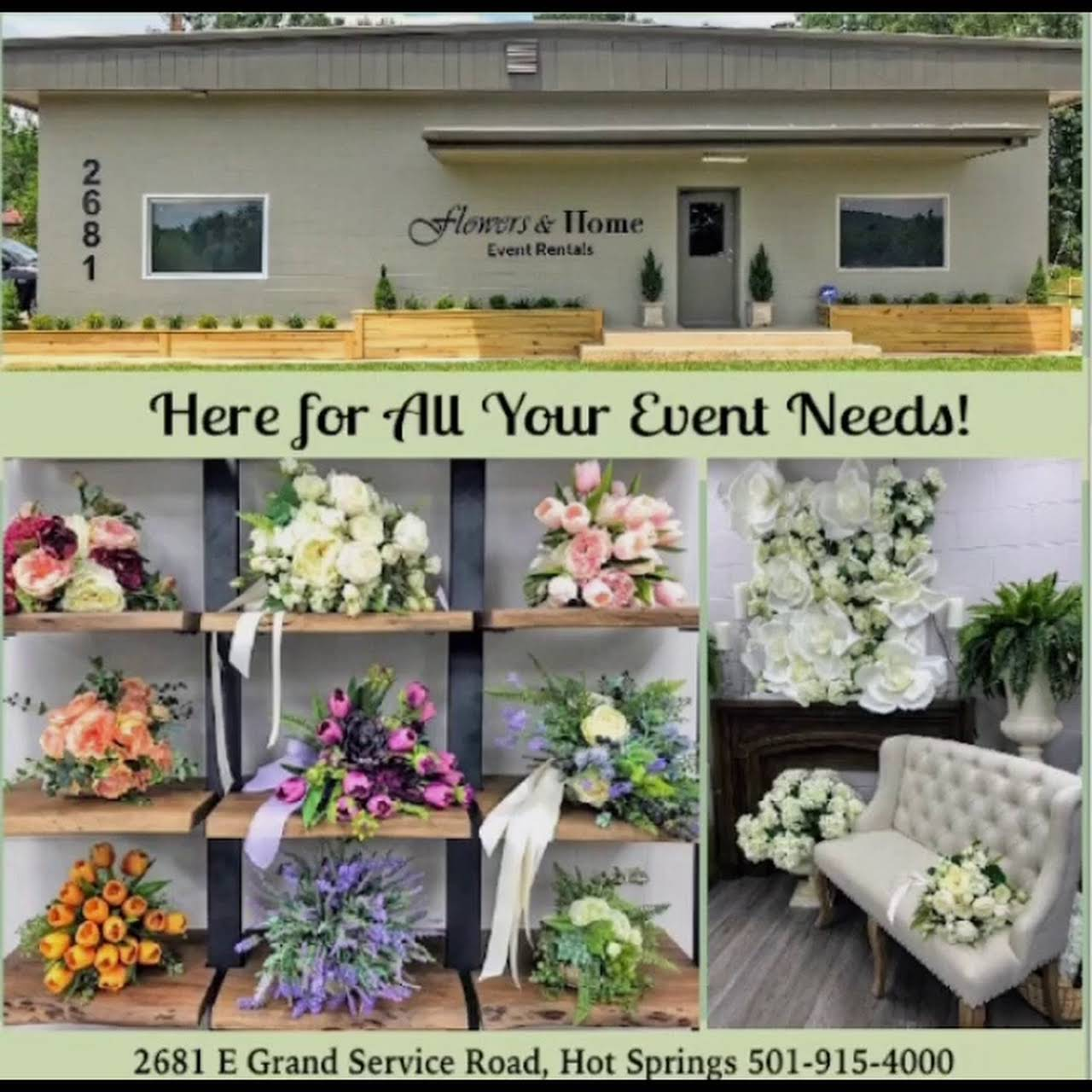 Flowers Home Event Rentals Party Equipment Rental Service In Hot