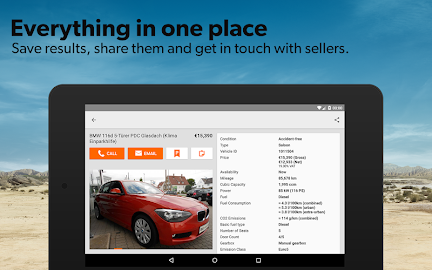 mobile.de – vehicle market Screenshot 20