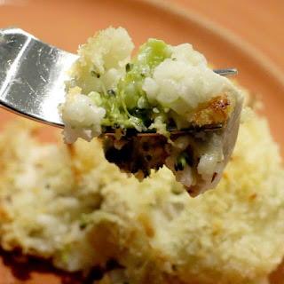 Cheesy Chicken, Broccoli and Rice Casserole.