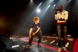 Photo: Ed Sheeran & Wretch 32