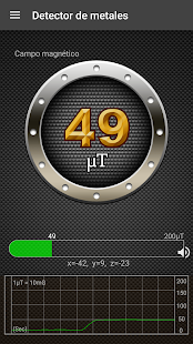 Detector de metales Screenshot