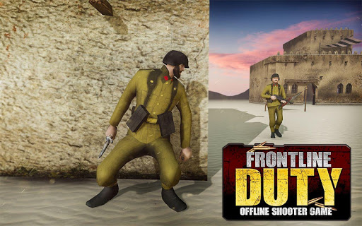 Code Triche Call of Army WW2 Shooter - Frontline Duty Mission APK MOD screenshots 5