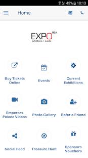 expoRSA screenshot 2