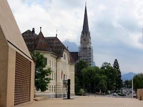 Photo: Vaduz - Städtle, parliament building