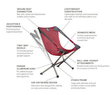 NEMO Moonlite Reclining Chair - Smolder alternate image 0