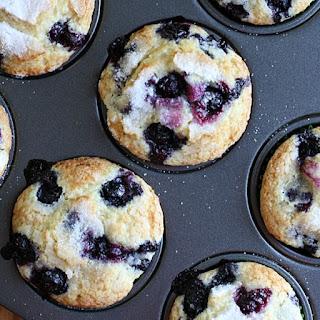 Jumbo Blueberry Muffins.