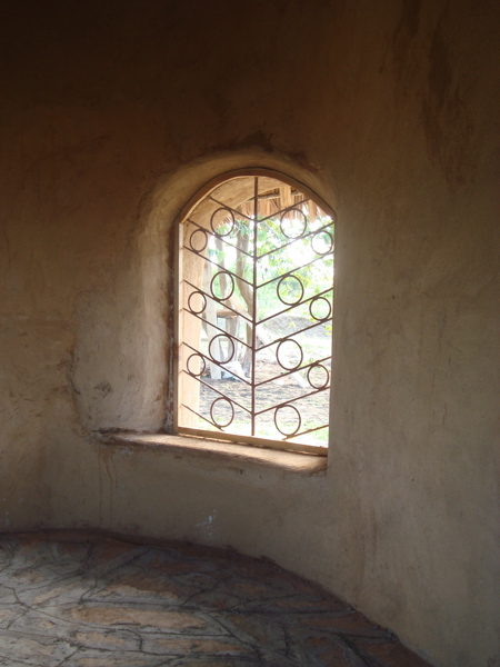 Photo: window after walls are plastered