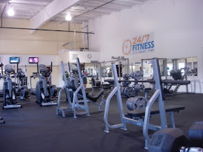 Photo: ...and a 24 hour fitness center!
