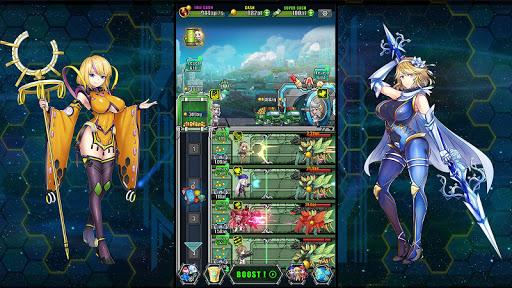 Idle Space Farmer - Waifu Manager Simulator screenshots 3