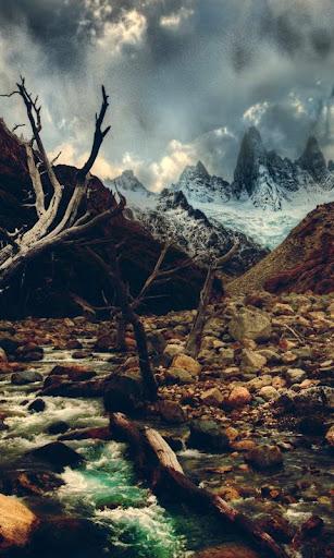 live wallpaper river