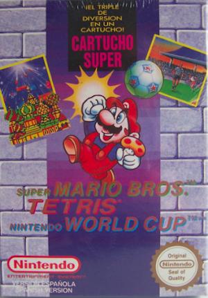 Super Mario Bros. / Tetris / Nintendo World Cup Nintendo