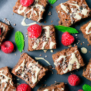 Fudgy Tahini Brownies