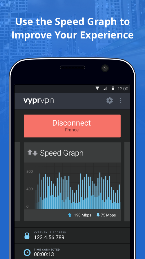 VPN for Privacy VyprVPN- screenshot