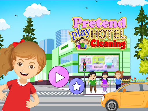 Pretend Play Hotel Cleaning: Doll House Fun 1.1.1 screenshots 1