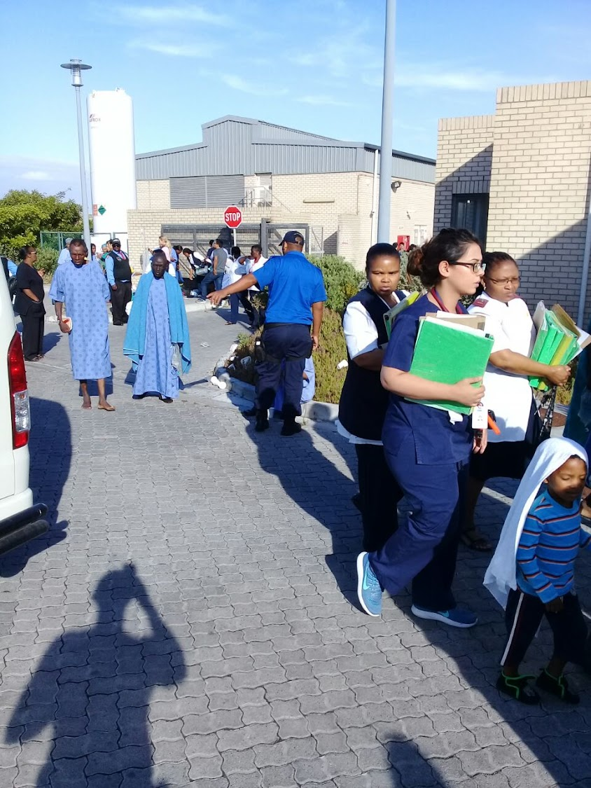 Patients Evacuated As Cape Town Hospital Catches Fire