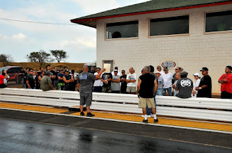 Photo: drivers meeting