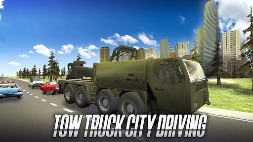 Tow Truck City Driving  screenshots 9