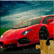 Sports Car Jigsaw Puzzles Game - Kids & Adults