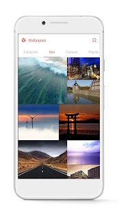 GO Launcher - 3D parallax Themes & HD Wallpapers- screenshot thumbnail