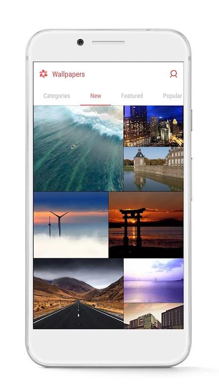 GO Launcher - 3D parallax Themes & HD Wallpapers screenshots