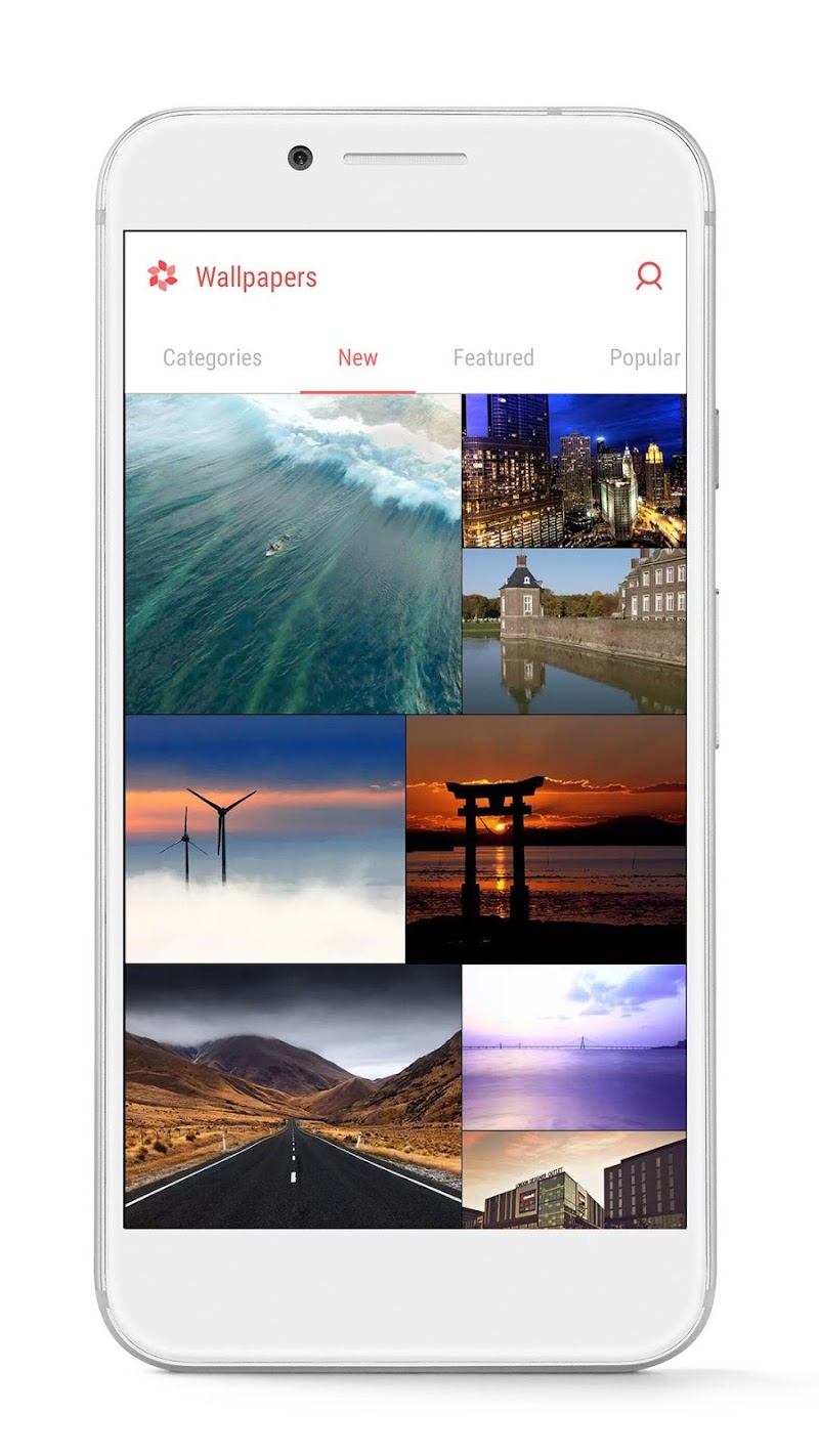 GO Launcher - 3D parallax Themes & HD Wallpapers Screenshot 6