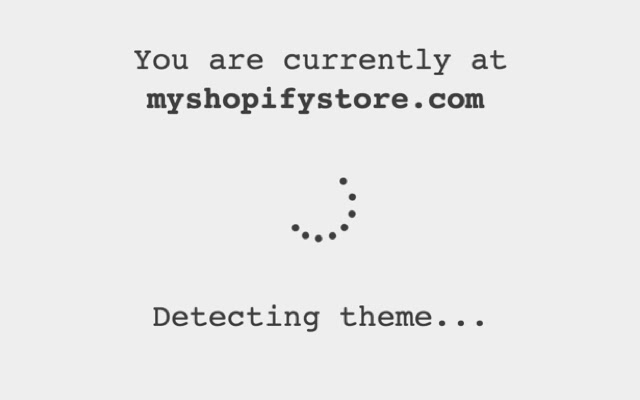 Simple Shopify Theme Detector