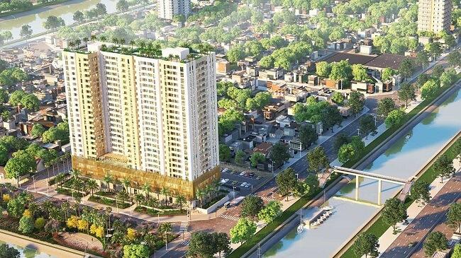Dự án bất động sản này hứa hẹn sẽ mang đến những không gian xanh cho thành phố