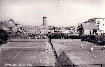 Photo: Domburg - Tennisvelden