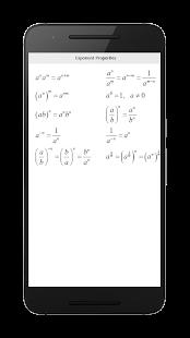 Screenshots of All Math Formula for iPhone