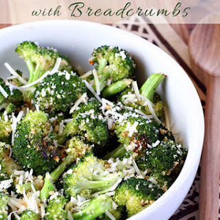 Roasted Broccoli with Breadcrumbs Recipe