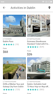Dublin Travel Guide with map